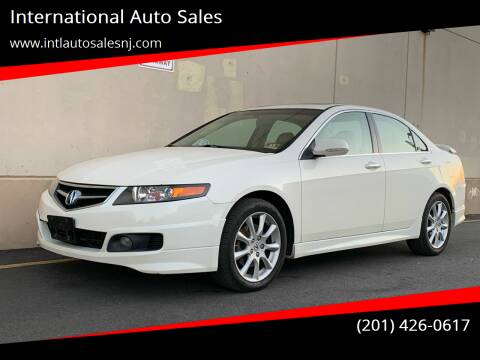 2007 Acura TSX for sale at International Auto Sales in Hasbrouck Heights NJ