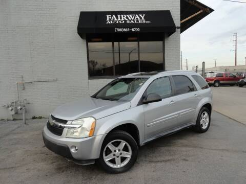 2005 Chevrolet Equinox for sale at FAIRWAY AUTO SALES, INC. in Melrose Park IL