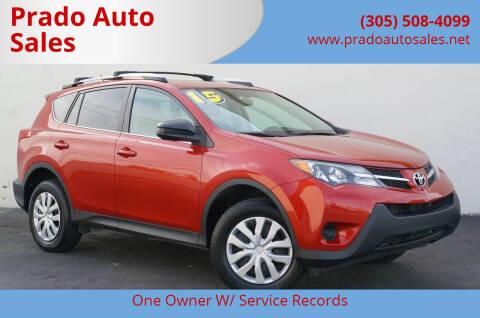 2015 Toyota RAV4 for sale at Prado Auto Sales in Miami FL