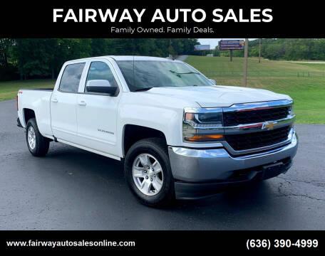 2016 Chevrolet Silverado 1500 for sale at FAIRWAY AUTO SALES in Washington MO