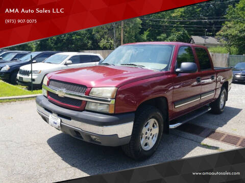 2004 Chevrolet Silverado 1500 for sale at AMA Auto Sales LLC in Ringwood NJ
