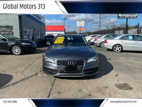 2012 Audi A7 for sale at Global Motors 313 in Detroit MI
