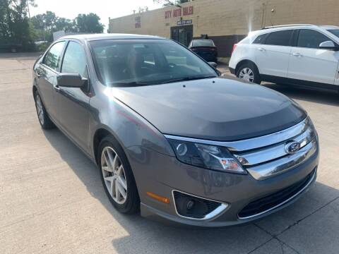 2011 Ford Fusion for sale at City Auto Sales in Roseville MI