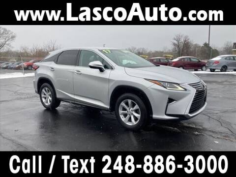 2017 Lexus RX 350 for sale at Lasco of Waterford in Waterford MI