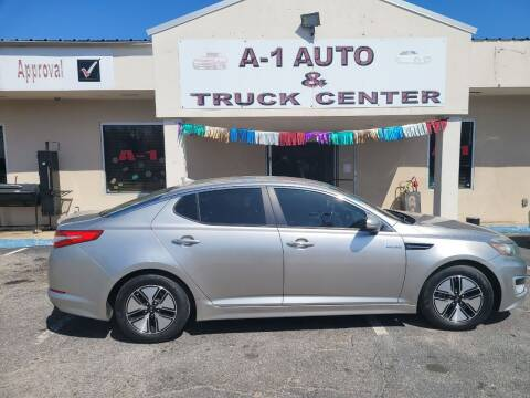 2013 Kia Optima Hybrid for sale at A-1 AUTO AND TRUCK CENTER in Memphis TN