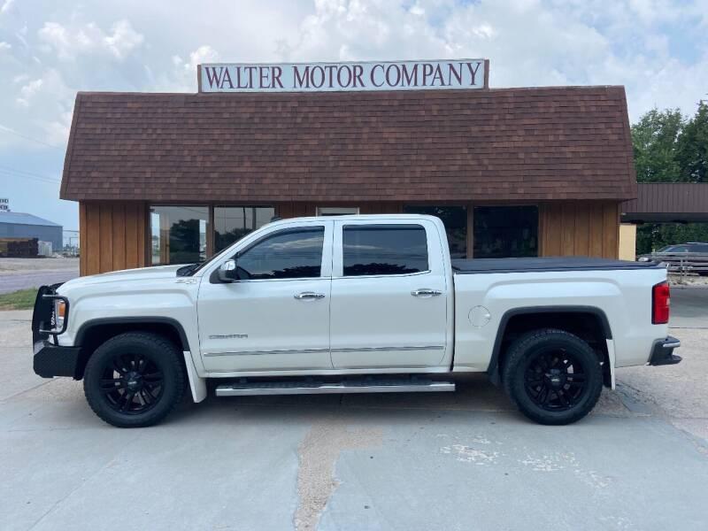 2014 GMC Sierra 1500 for sale at Walter Motor Company in Norton KS