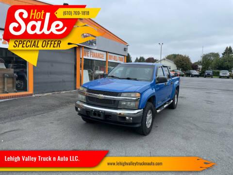 2007 Chevrolet Colorado for sale at Lehigh Valley Truck n Auto LLC. in Schnecksville PA