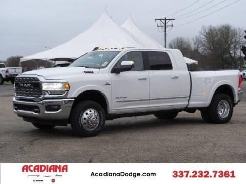 2020 RAM Ram Pickup 3500 for sale at ACADIANA DODGE CHRYSLER JEEP in Lafayette LA