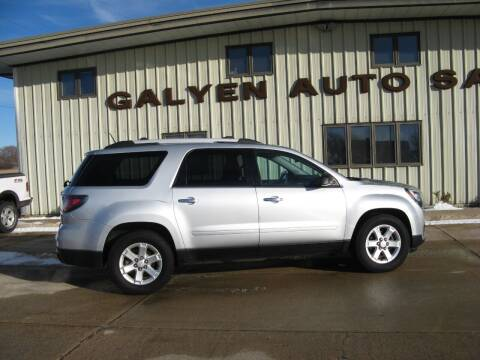 2016 GMC Acadia for sale at Galyen Auto Sales Inc. in Atkinson NE