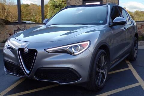 2018 Alfa Romeo Stelvio for sale at Rogos Auto Sales in Brockway PA