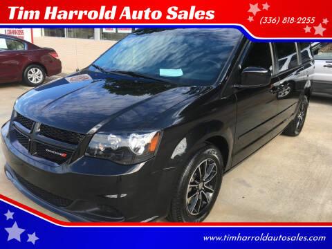 2017 Dodge Grand Caravan for sale at Tim Harrold Auto Sales in Wilkesboro NC