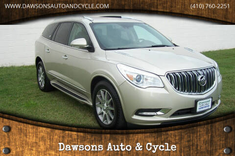 2014 Buick Enclave for sale at Dawsons Auto & Cycle in Glen Burnie MD
