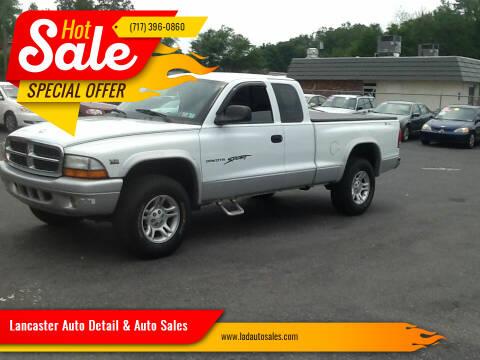 2003 Dodge Dakota for sale at Lancaster Auto Detail & Auto Sales in Lancaster PA