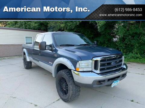 2004 Ford F-250 Super Duty for sale at American Motors, Inc. in Farmington MN