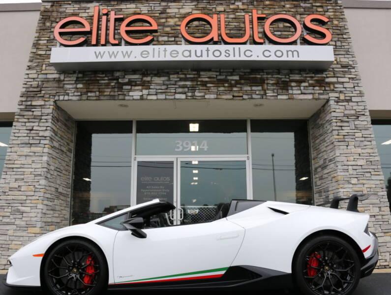 2018 Lamborghini Huracan for sale at Elite Autos LLC in Jonesboro AR