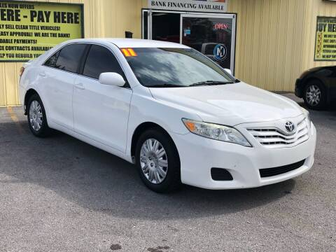 2011 Toyota Camry for sale at Mr. G's Auto Sales in Shelbyville TN