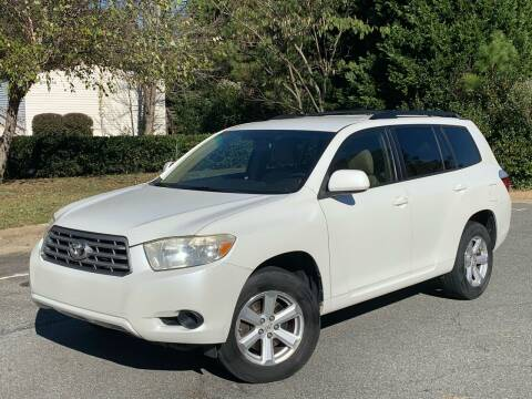 2008 Toyota Highlander for sale at Triangle Motors Inc in Raleigh NC