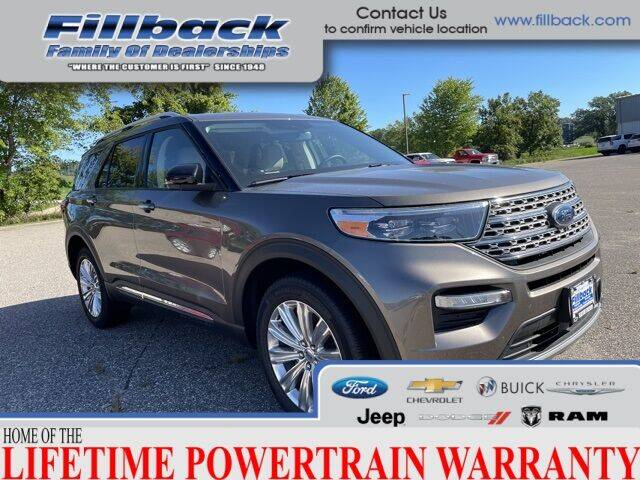 2021 Ford Explorer Hybrid for sale in Boscobel, WI