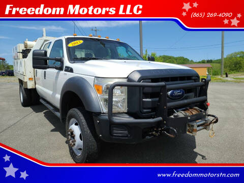 2012 Ford F-450 Super Duty for sale at Freedom Motors LLC in Knoxville TN