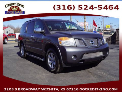 2010 Nissan Armada for sale at Credit King Auto Sales in Wichita KS