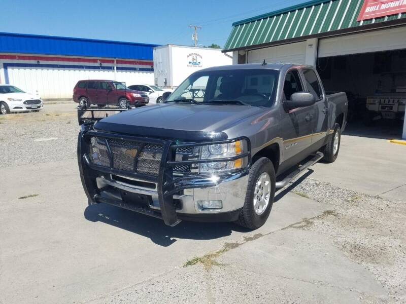 2013 Chevrolet Silverado 1500 for sale at Bull Mountain Auto, Truck & Trailer Sales in Roundup MT