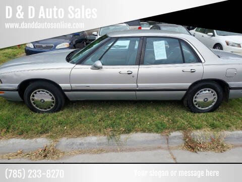 1997 Buick LeSabre for sale at D & D Auto Sales in Topeka KS