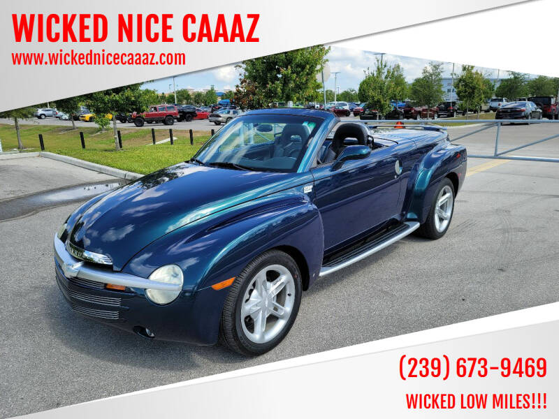 2006 Chevrolet SSR for sale at WICKED NICE CAAAZ in Cape Coral FL