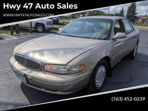1999 Buick Century for sale at Hwy 47 Auto Sales in Saint Francis MN
