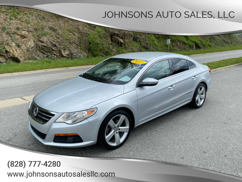 2011 Volkswagen CC for sale at Johnsons Auto Sales, LLC in Marshall NC