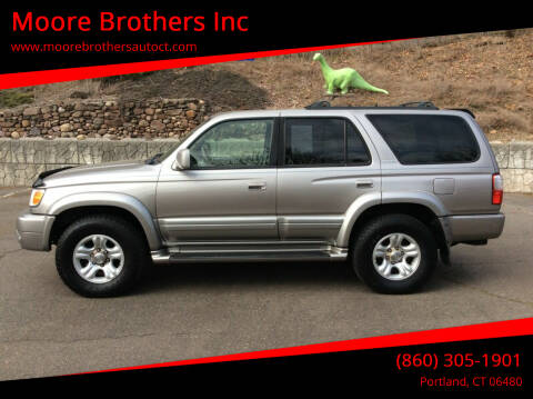 2002 Toyota 4Runner for sale at Moore Brothers Inc in Portland CT