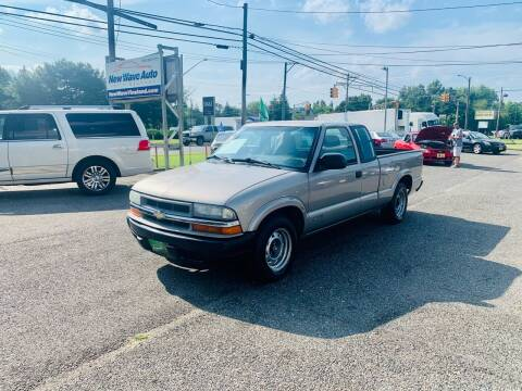 2002 Chevrolet S-10 for sale at New Wave Auto of Vineland in Vineland NJ