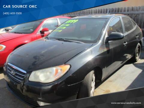 2007 Hyundai Elantra for sale at CAR SOURCE OKC in Oklahoma City OK