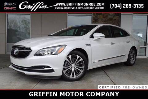 2017 Buick LaCrosse for sale at Griffin Buick GMC in Monroe NC