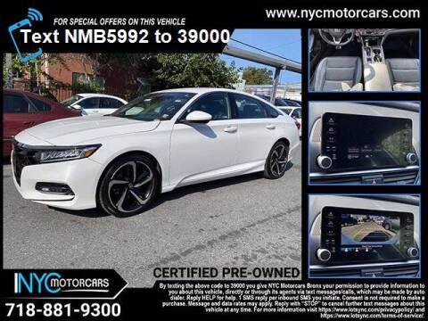 2018 Honda Accord for sale at NYC Motorcars in Freeport NY