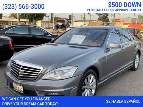 2012 Mercedes-Benz S-Class for sale at Best Car Sales in South Gate CA