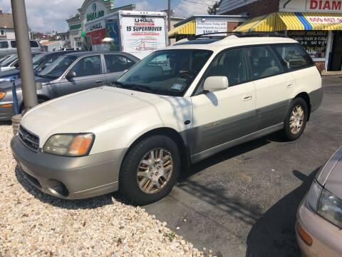 2001 Subaru Outback for sale at Diamond Auto Sales in Pleasantville NJ