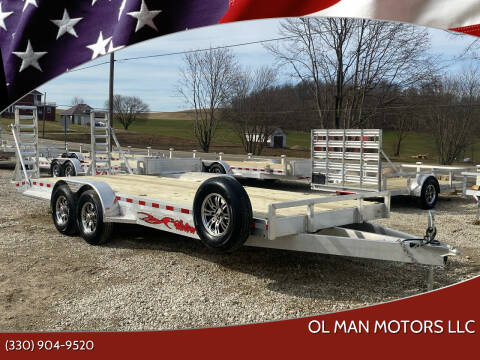 2020 Wolverine 7 x 22 Trailer for sale at Ol Man Motors LLC in Louisville OH