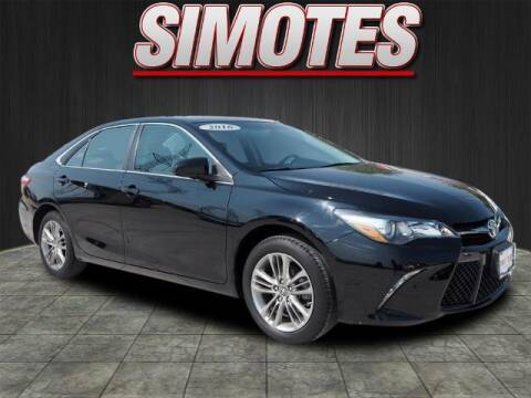 2016 Toyota Camry for sale at SIMOTES MOTORS in Minooka IL