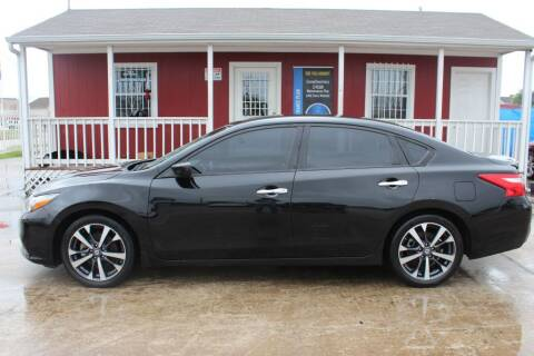 2016 Nissan Altima for sale at AMT AUTO SALES LLC in Houston TX