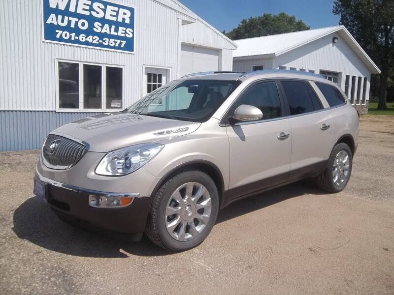 2011 Buick Enclave for sale at Wieser Auto INC in Wahpeton ND