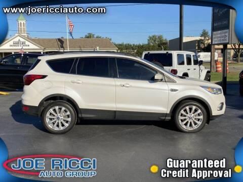 2019 Ford Escape for sale at JOE RICCI AUTOMOTIVE in Clinton Township MI