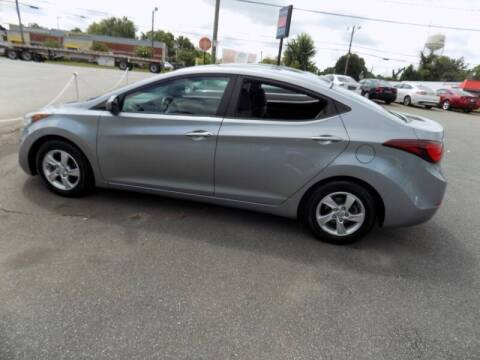 2015 Hyundai Elantra for sale at Pro-Motion Motor Co in Lincolnton NC