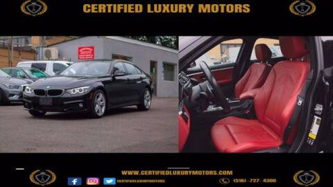 2016 BMW 4 Series for sale at Certified Luxury Motors in Great Neck NY