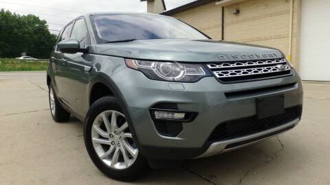 2017 Land Rover Discovery Sport for sale at Prudential Auto Leasing in Hudson OH