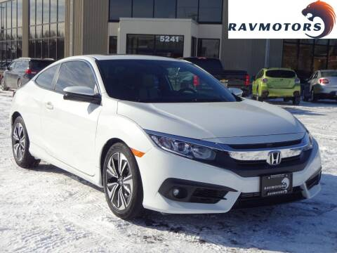 2017 Honda Civic for sale at RAVMOTORS 2 in Crystal MN