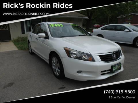 2008 Honda Accord for sale at Rick's Rockin Rides in Reynoldsburg OH