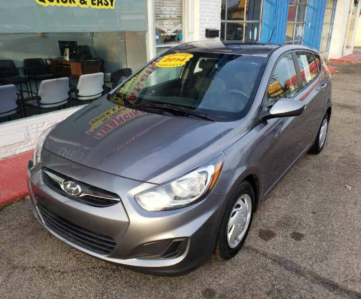 2014 Hyundai Accent for sale at AutoMotion Sales in Franklin OH