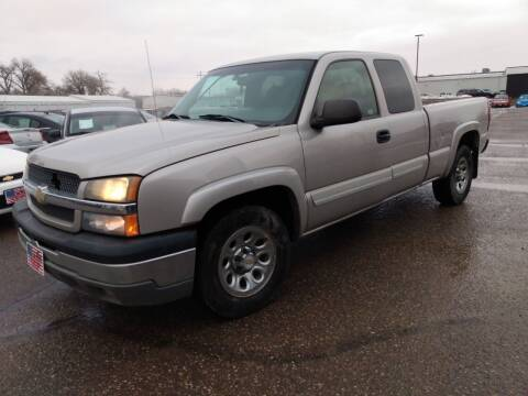 2005 Chevrolet Silverado 1500 for sale at L & J Motors in Mandan ND