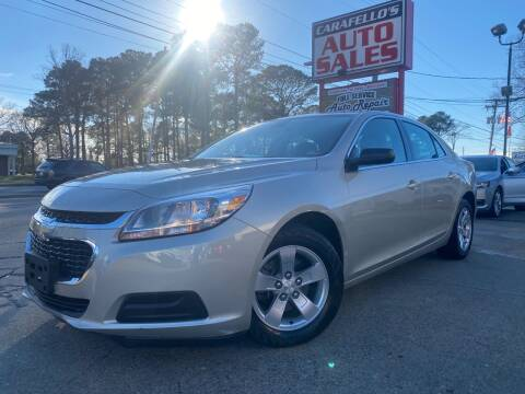 2016 Chevrolet Malibu Limited for sale at Carafello's Auto Sales in Norfolk VA