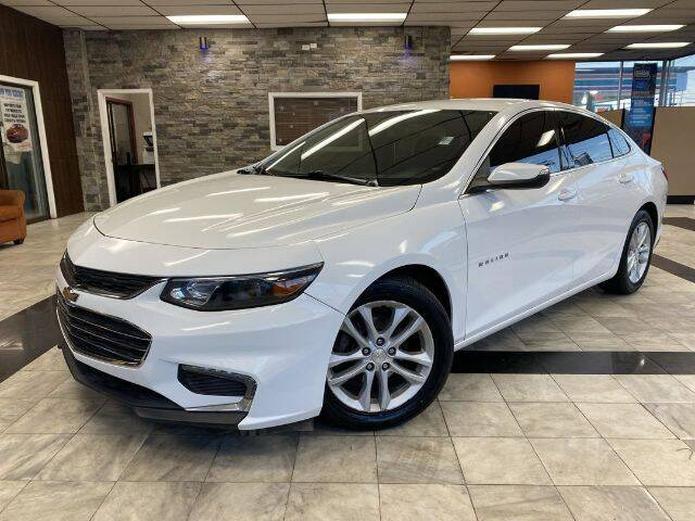 2017 Chevrolet Malibu for sale at Sonias Auto Sales in Worcester MA